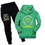 Can't Hear You I'm Gaming - Sudadera con capucha para niños, verde, 3-4 Años