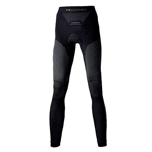 X-Bionic Biking Adulte Lady Ow Comfort Long Pantalon imperméable Multicolore Noir/Anthracite XS