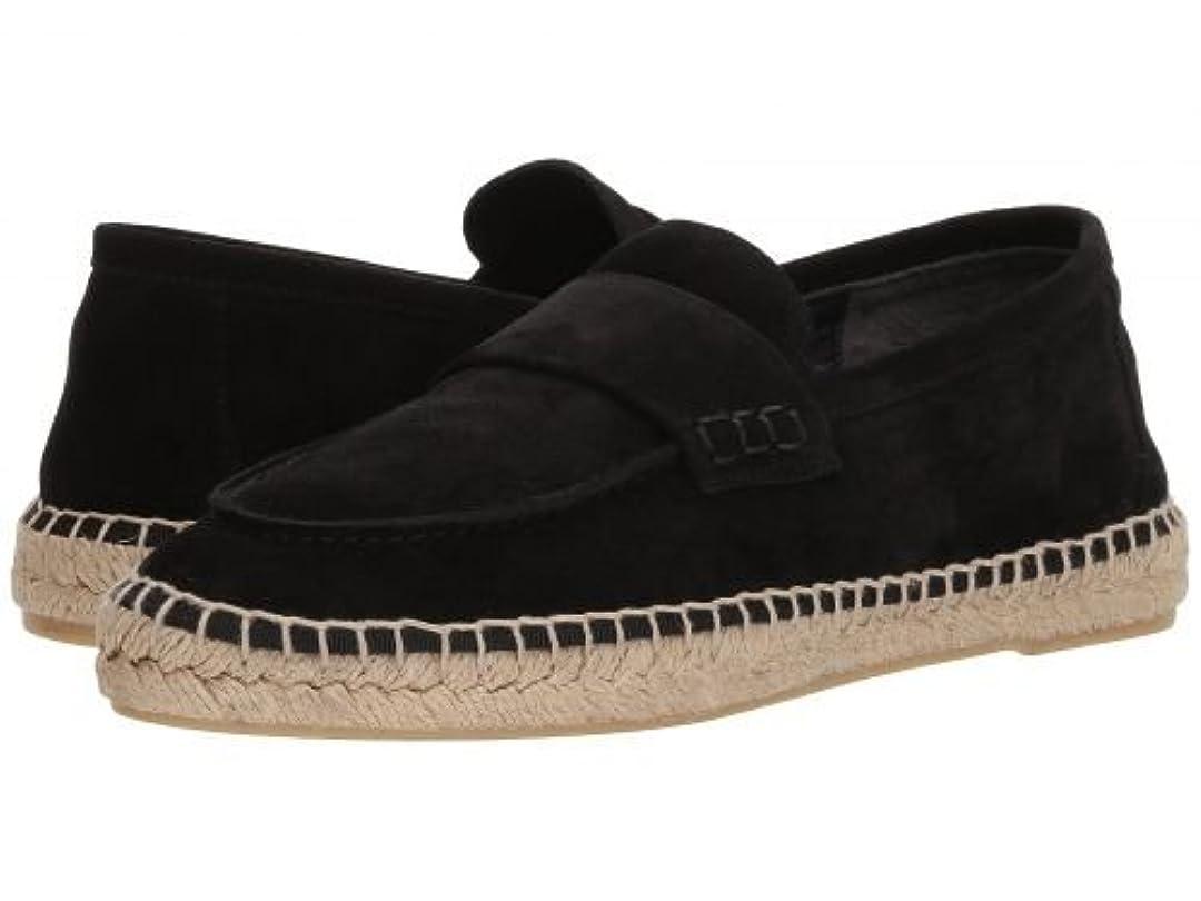 テスト一目印刷するVince(ヴィンス) レディース 女性用 シューズ 靴 ローファー ボートシューズ Daria2 - Black Coco Sport Suede [並行輸入品]
