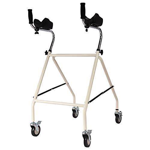 Kompakter, zusammenklappbarer Gehwagen für Senioren-Schmale, leichte Gehwagen mit Rädern. Gehwagen aus Aluminiumlegierung mit Sitz, bestes Geschenk für die Familie