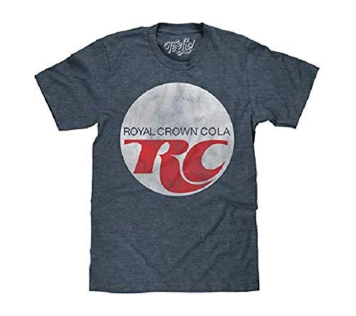 RC コーラ Tシャツ Royal Crown Cola ロゴ 正規品 ローヤルクラウン・コーラ カンパニー ロゴ (L)