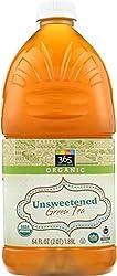 365 Everyday Value, Organic Green Tea, Unsweetened, 64 fl oz