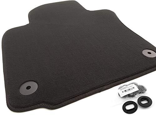 Fußmatte Velours passend für Golf 5 6 Automatte Fahrerseite Fahrermatte einzeln