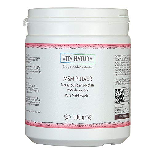 Msm Pulver Methylsulfonyl 500 g