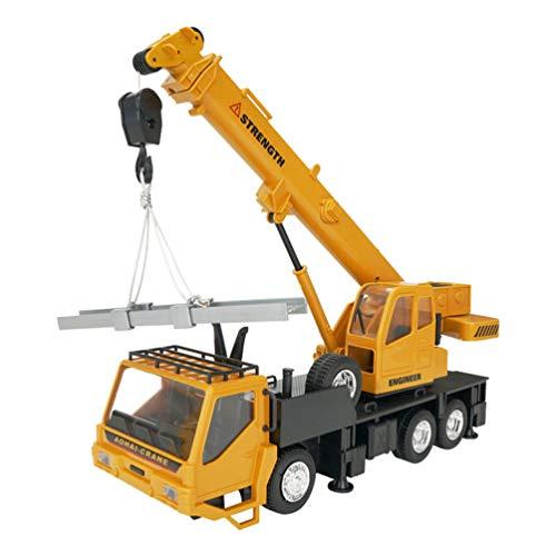 NUOBESTY Kran LKW Spielzeug Fernbedienung Engineering Baufahrzeug Modell Spielzeug für Kinder Kleinkinder
