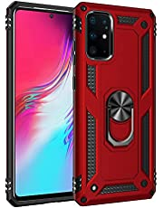 for Galaxy S20 Plus 5G Case with Military Grade Heavy Duty Armor Protection Phone Case,Metal Ring 360° Rotating Kickstand Shockproof&Magnetic Adsorption Car Mount for Samsung S20+ 5G Case