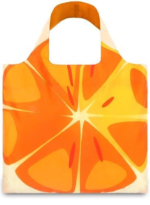 LOQI Frutti Orange Reusable Shopping Bag, Multicolor by LOQI