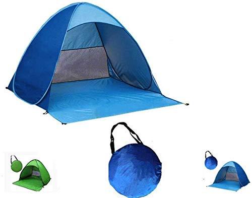 Unibos Have Duty Pop Up 2 Man Beach Camping Festival Fishing Garden Kids/Adult Tent Sun Shelter