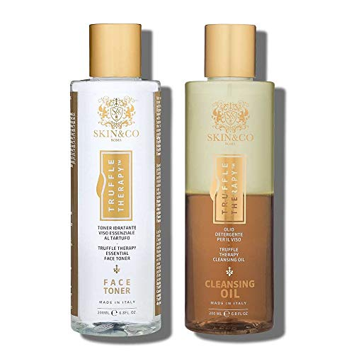 SKIN&CO Roma Truffle Therapy Face Toner & Cleansing Oil Duo