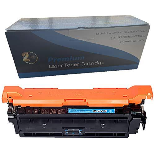 RRWW Reemplazo De Cartucho De Tóner 507A para HP Laserjet Enterprise 500 Color M551N M551DN M551XH MFP M575DN M575F Cyan