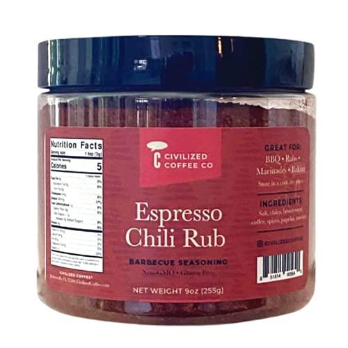 Civilized Coffee Espresso Chili Rub