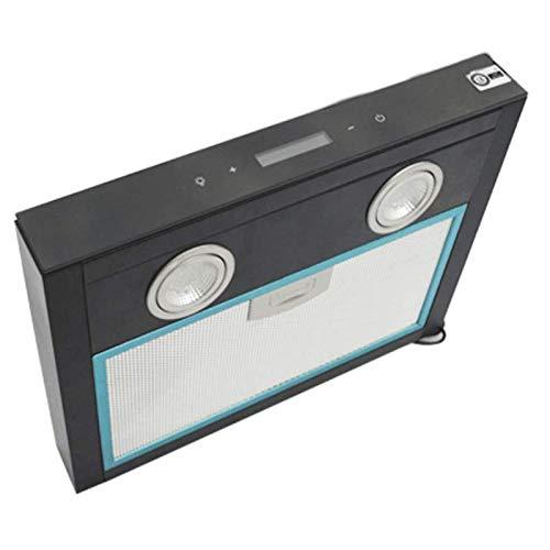 KESOTO 12V Dunstabzugshaube mit Lüfter und LED-Licht, unterstützt Abnehmbarem Filter und 3-Stufen Lüfter Steuerung