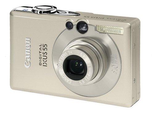 Canon Digital IXUS 55 Digitalkamera (5 MP)