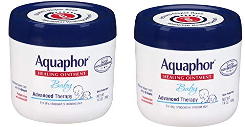 Aquaphor Baby Healing Ointment  Advance Therapy for Diaper Rash Chapped Cheeks and Minor Scrapes  14 oz Jar