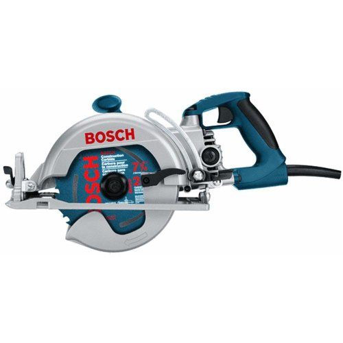Bosch 1677M 7-1/4' Worm Drive with Rear Handle Construction Saw