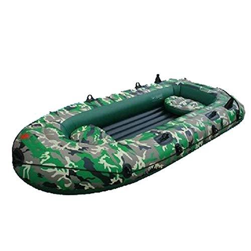 SS Boat Kayak Kayak, Motoscafo Gonfiabile in PVC, Pesca, All'aperto, Sport Acquatici 1-3 Persone Pesca, Sport all'Aria Aperta, Spiaggia, Mare