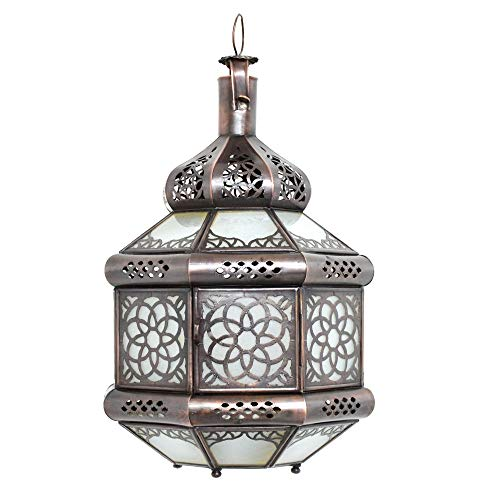 Orient - Lámpara de techo oriental (35 cm de altura,
