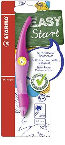Stabilo EASYoriginal Rollerball Pen, Left-Handed, Light Pink/Dark Pink