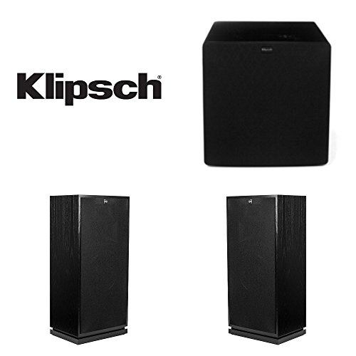 Best Bargain Klipsch Forte III Floor-Standing Speaker Pair Bundled with (1) Klipsch SW-311 Subwoofer...
