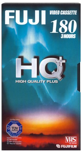 Fuji HQ Plus 180 min VHS-Videokassette