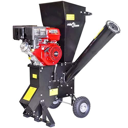 CASTLOVE Benzinbetriebene Holzhackmaschine mit 15 HP Motor
