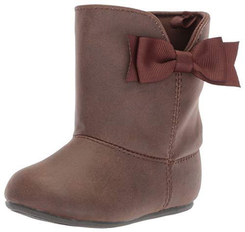 Baby Deer Girls' 02-6866 Mid Calf Boot, Chocolate, 5 Medium US Toddler