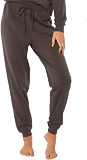 Amuse Society Wild Me Knit Pant Medium Charcoal