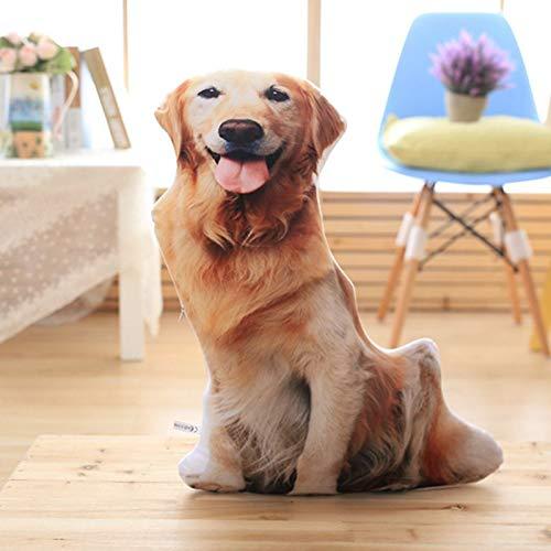 3D Einzel Hundekissen Schlafkissen große Katze Sofakissen abnehmbar und waschbar männliches Geburtstagsgeschenk 50 cm Gartenhund