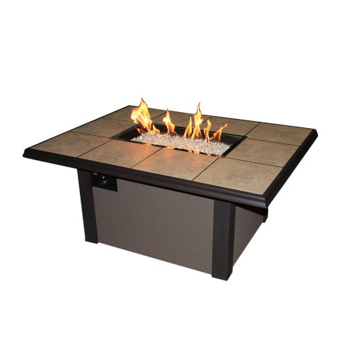 Hot Sale Outdoor Great Room Company Napa Valley Fire Pit Table