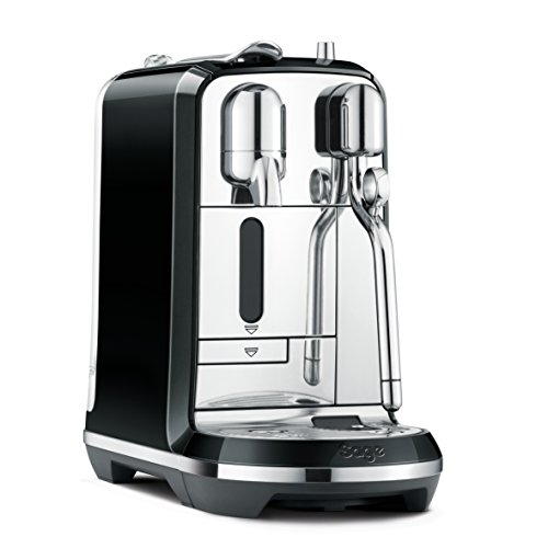 Nespresso Creatista Coffee Machine, Black by Sage