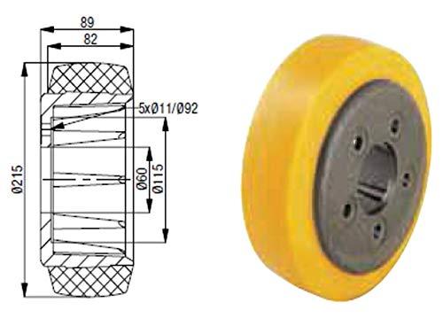 Antriebsrad für BT Elektrohubwagen, Rad, Rolle für Stapler, Hubwagen