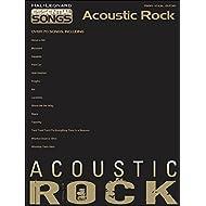 Hal Leonard esencial canciones–acústica Rock arreglados para piano, voz y guitarra (P/V/G)