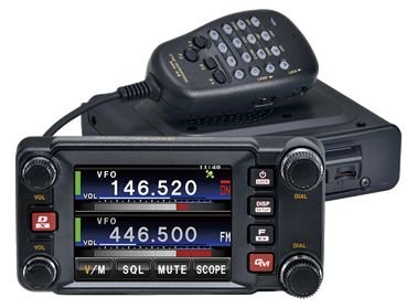 Yaesu Original FTM-400DR/XDR 144/430MHz Dual-Band Analog/Digital Mobile Transceiver System Fusion