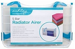 ASHLEY HOUSEWARES Ashley BB-RA222 - Tendedero para radiador (5 Bares, Acero), Color Blanco
