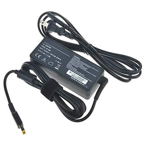 AT LCC 20V 65W AC/DC Adapter for Lenovo ThinkPad S1 Yoga 20CD 20C0 Series i7-4500U i5-4200U i7-4600U 12.5' Ultrabook Tablet PC 20VDC Power Supply Cord Cable PS Charger Mains PSU