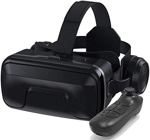 Auriculares VR Conexión Bluetooth Auriculares VR para Pantalla de teléfono Inteligente de 4.7-6.0 Pulgadas Compatible con Android e iOS Adecuado para iPhone 11 Pro/iPhone XS MAX/iPhone 8 / 8P