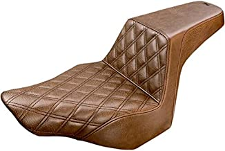 Saddlemen 813-27-172BR LS Step-Up Seat - Brown Diamond