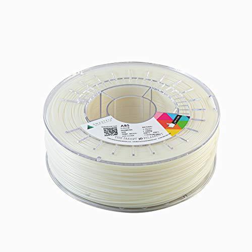 SMARTFIL ABS, 1.75mm, Natural, 1000g Filamento para Impresión 3D de Smart Materials 3D