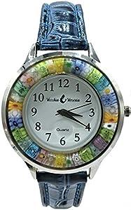 Reloj Murano cristal Murano Millefiori