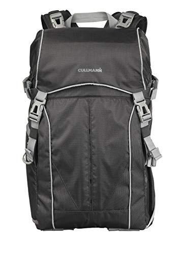 CULLMANN ULTRALIGHT 2in1 Daypack 600+ Foto-/Wanderrucksack mit Schultertasche, Innenmaß Kamerafach 240x190x120mm, schwarz