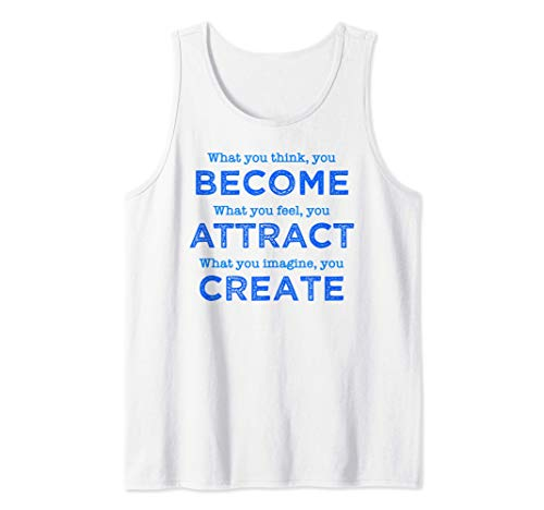 Buddha Quote, What You Think You Become, Buddha Gifts Tank Top