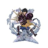 One Piece: Monkey.D.Luffy-Gear 4 Statue One Piece De Leo Baz