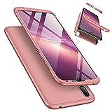 Coque Huawei Y7 Pro 2019 (Version Standard, Aucune Empreinte Digitale), LaiXin Étui 360 degrés...