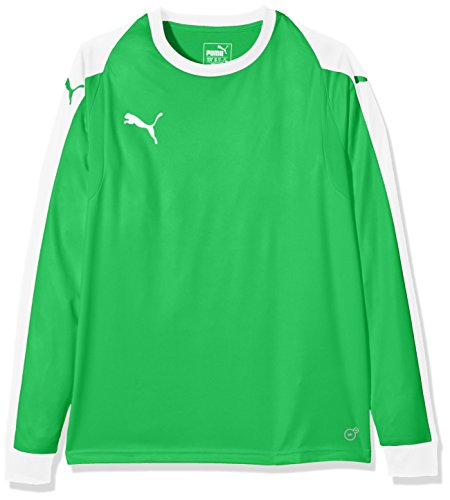 PUMA Kinder Liga Torwart Trikot, grün (Bright Green/Puma White), 128