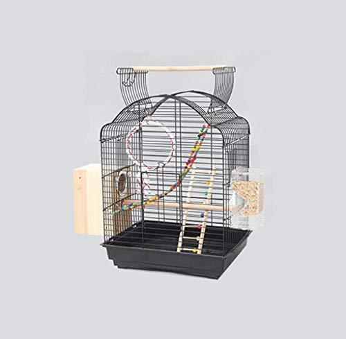 Space- rack Z-W-Dong Robuste Cages Parrot métal, Perruches calopsittes écureuil fenêtre Cages Afficher Birdcages- Top Peut être Ouvert Oiseaux/Cages à Oiseaux (Color : D, Size : 52 * 41 * 70CM)