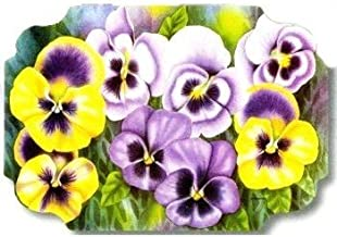 Pansies Paper Placemats 50 Pack