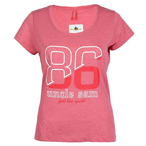 Uncle Sam Damen T-Shirt by Daniela Katzenberger, Verschiedene Styles, Größe:M, Farben:Rosa