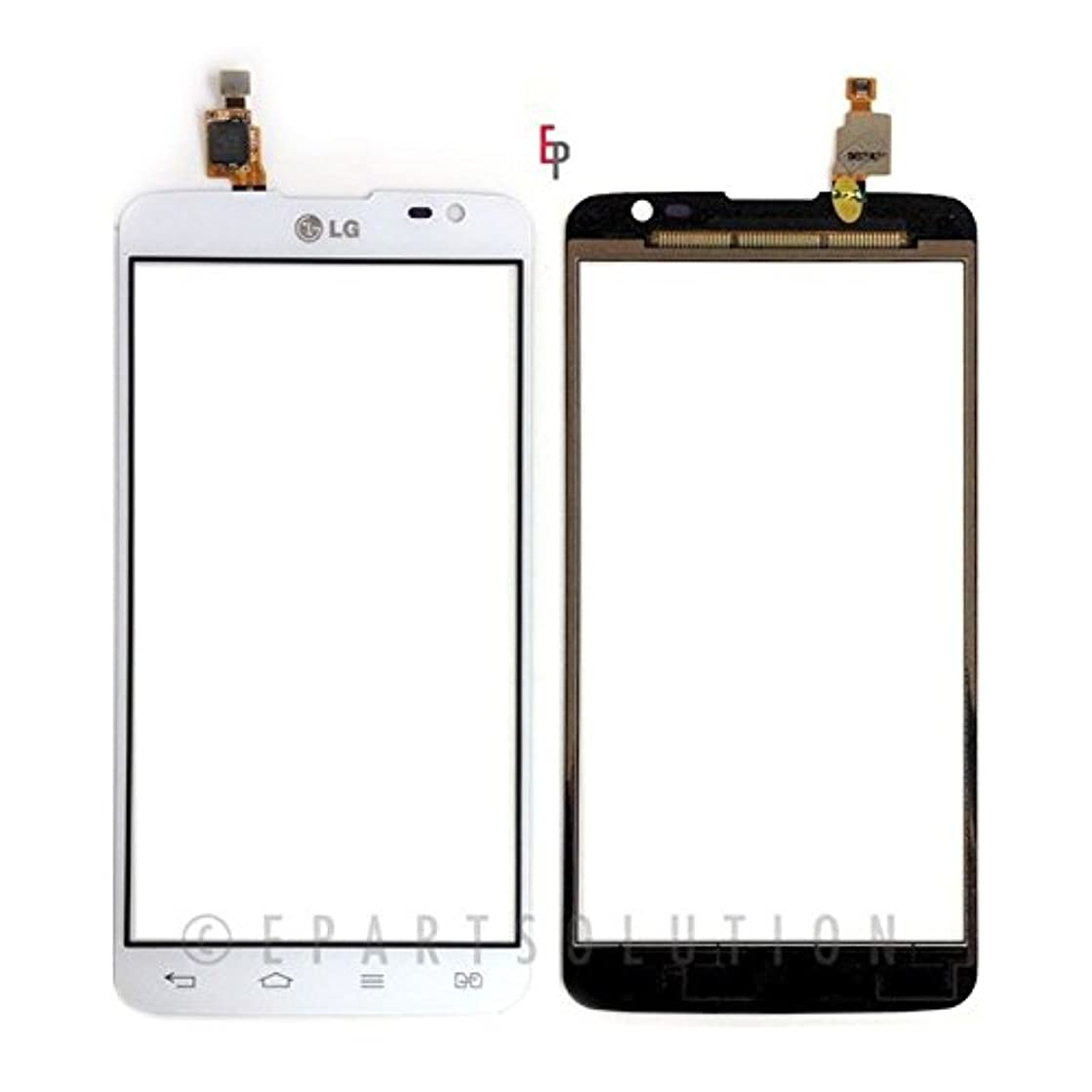ePartSolution_Digitizer Lens Glass Touch Screen Lens For LG G Pro Lite Dual D686 D685 Replacement Part USA Seller (White)