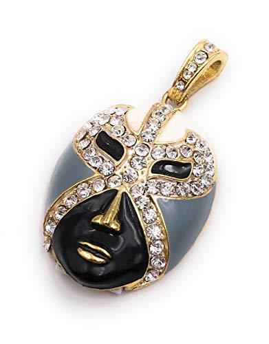 Onlineworld2013 Masker gezichtsmasker carnaval goud zwart wit glitter strass Grappige USB stick div maten 8 GB USB 2.0