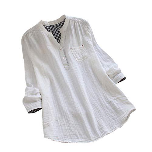 OSYARD Damen Sweatshirt,Oberseiten,Pullover, Frauen Tunika Hemd Oberteile Streetwear Große Größe...